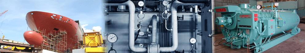 manometro con caja en acero inoxidable para calderas sistemas de calefaccion y motores navales