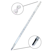 Termómetro de mercurio con escala de opal de -35 a 20ºC