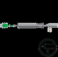 Termopar tipo k de sonda para superficies a altas temperaturas