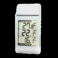 termómetro digital de pared con pantalla LCD grande y función máxima y mínima