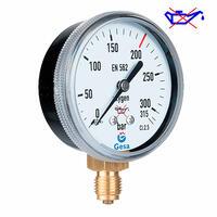 Manómetro para oxígeno o acetileno M0601 desengrasado