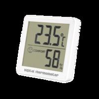 Termohigrómetro con registro de máxima y mínima