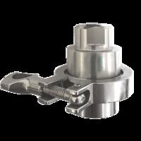 Separador de membrana bridado sanitario en acero inoxidable AISI 316L