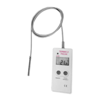 High precision thermometer DT-1 with probe for deep freezing down to -100ºC