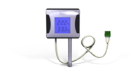 Probe for big format termometer with LCD screen and 3m RS485