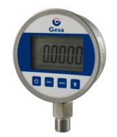 Manômetro versátil para gás, líquido, óleo e outros meios não corrosivos