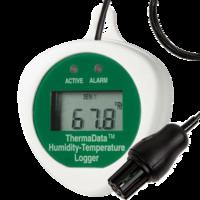 Data logger temperatura y humedad con sonda externa -20 a 85ºC // 0 a 100% HR