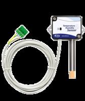 Sonda de temperatura y humedad con caja mural IP54 y 5m de cable RS485
