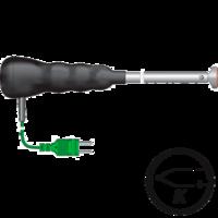 Termopar tipo k sonda impermeable para superficies con sensor articulado, Gesa