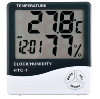 Max/min Hygrometer with clock & Alarm