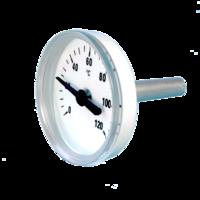 termómetro bimetálico de plástico