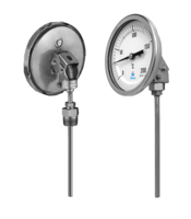 Every angle inert gas filled thermometers