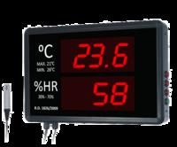 Termómetro-Higrómetro digital de gran formato para pared RD1826/2009