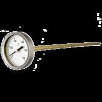 termómetro especialmente diseñado para colocar en embocadura de hornos grandes