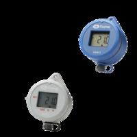 Data loggers con pantalla para temperatura y humedad