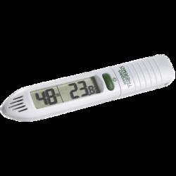 Termohigrómetro digital portátil de bolsillo con función máxima y mínima