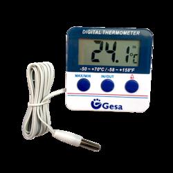 Termómetro digital de máxima y mínima para nevera