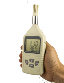 Humidity and Temperature Meter