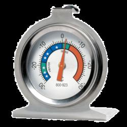 Termómetros para neveras y cámaras frigoríficas en acero inoxidable