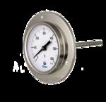 Bimetall-Thermometer für Öfen mit  Stirnflansch D41