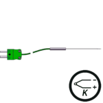 Type K thermocouple miniature needle probe