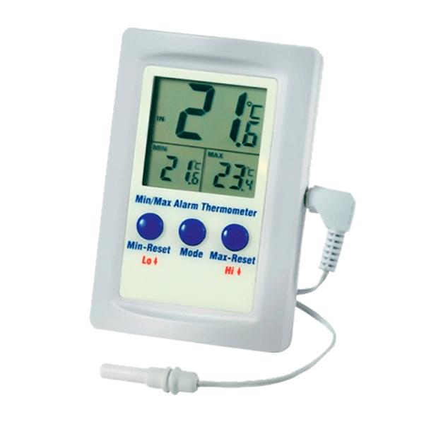 Termometro Con Alarma Para Temperatura Ambiente Gesa Termómetro infrarrojo digital ir988 itelsistem factura igv. termometro con alarma para temperatura