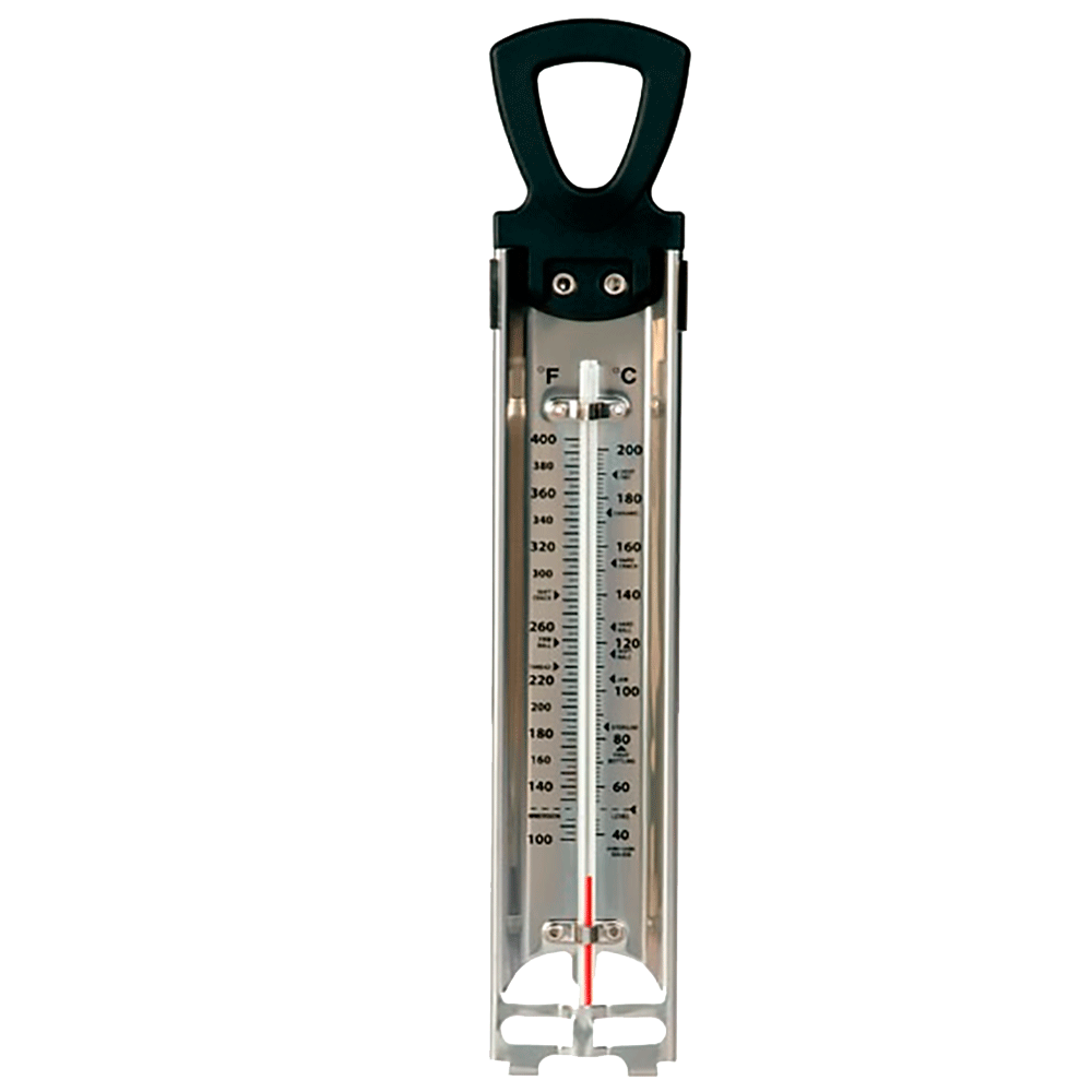 Termometro de azucar para reposteria para no quemar el caramelo - Termometro de pared ...