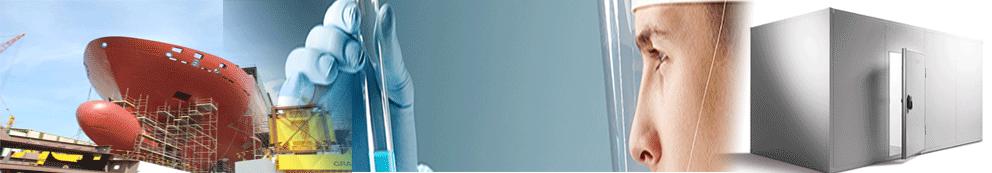 termómetro de vidrio para laboratorios, motores navales, altas temperaturas