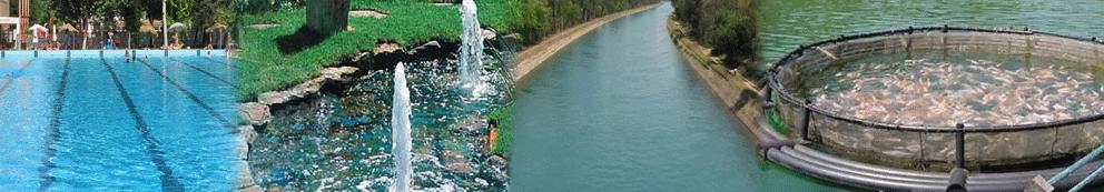termometro flotante de agua para piscinas, estanques o masas de agua artificiales