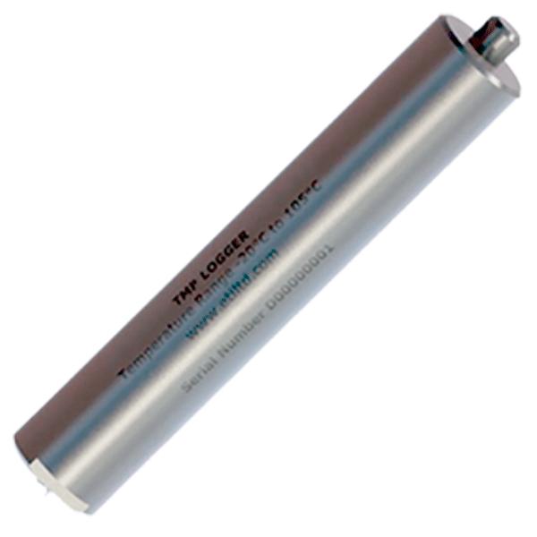 Data logger hasta 105ºC en acero inoxidable con sonda de penetración y anilla